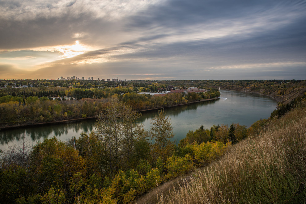Trust us: Edmonton is best seen from afar. Stay away.