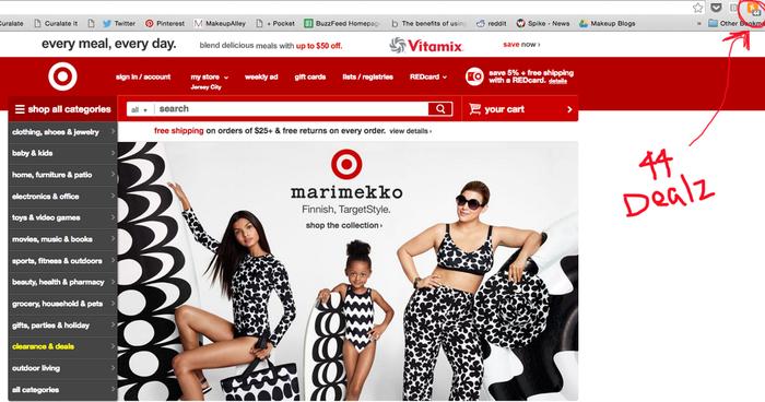 Bless Target.