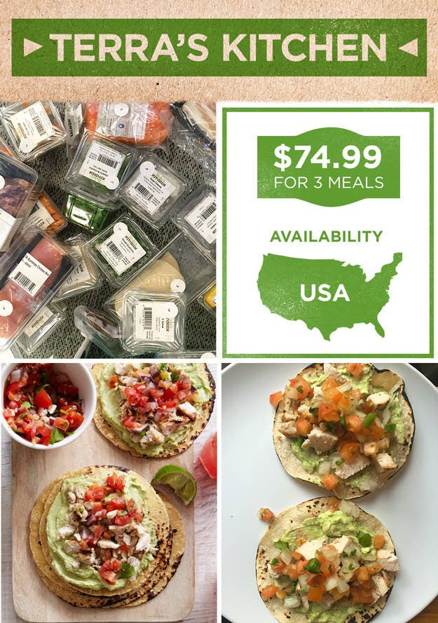 Heres what its like to actually cook all the meal delivery kits 7 terras kitchen forumfinder Gallery