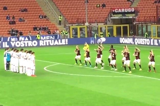 Italian Soccer Team Performs Maori Haka To Sell Nivea Face Cream