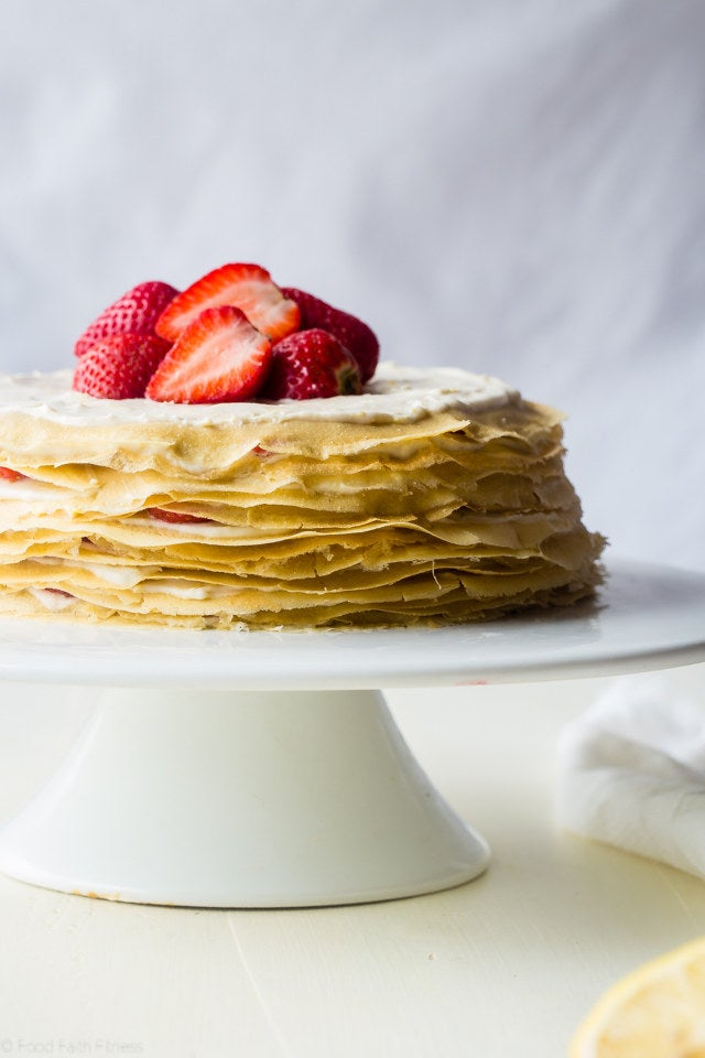 Because every excuse to eat cake for breakfast is a good one. Get the recipe here.