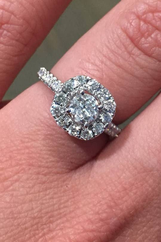 Brides Say Their Engagement Rings Were Lost Or Ruined By Kay Jewelers - These wedding ring photos reflect the happily married newlyweds they belong to