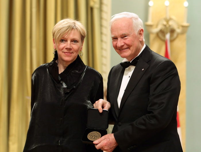 Carol Wainio received The Governor General's Visual and Media Arts Award in 2014.
