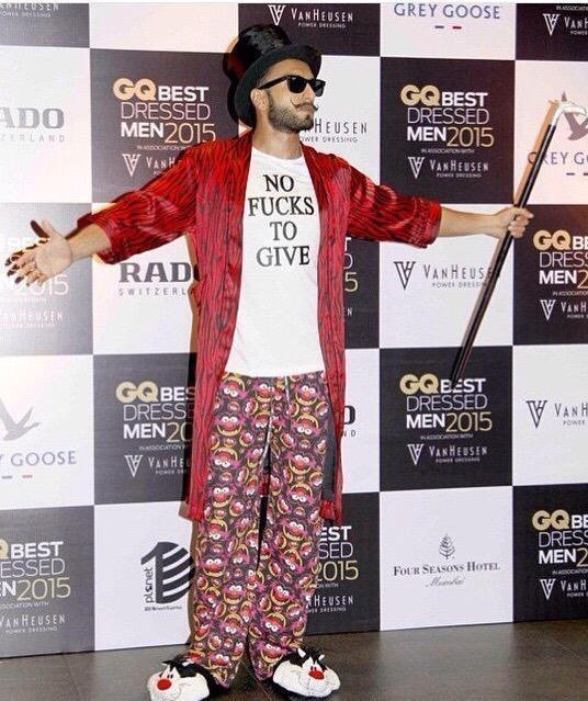 8 Times We Thought Ranveer Singh Is One Of His Kind!