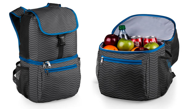 This insulated picnic cooler backpack.