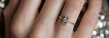 We Know What Kind Of Alternative Engagement Ring You'll Love