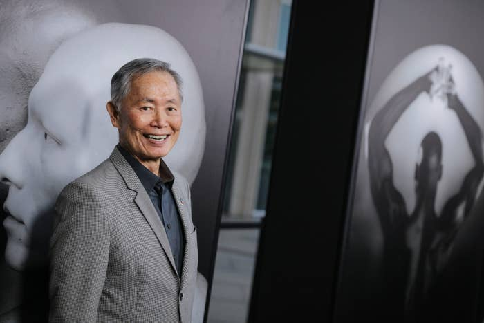 Takei at the premiere of HBO Documentary Films' Mapplethorpe: Look at the Pictures on March 15 in Los Angeles.