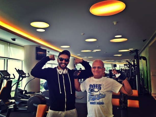 Become friends with uncles you meet at the gym (and have every news outlet write about it).