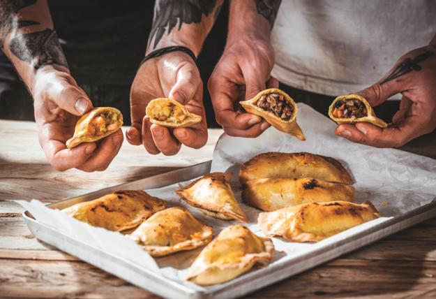 3. These empanadas in Ecuador: