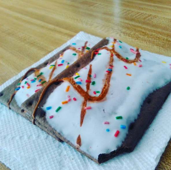 This Pop-Tart artist who didn't even try: