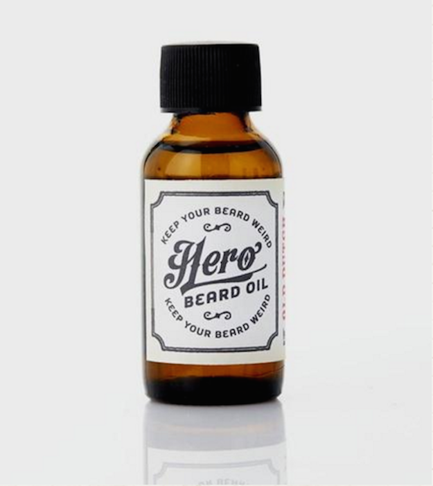 The beard is the eyes of the chin. Keep yours sparkling with Hero beard oil.