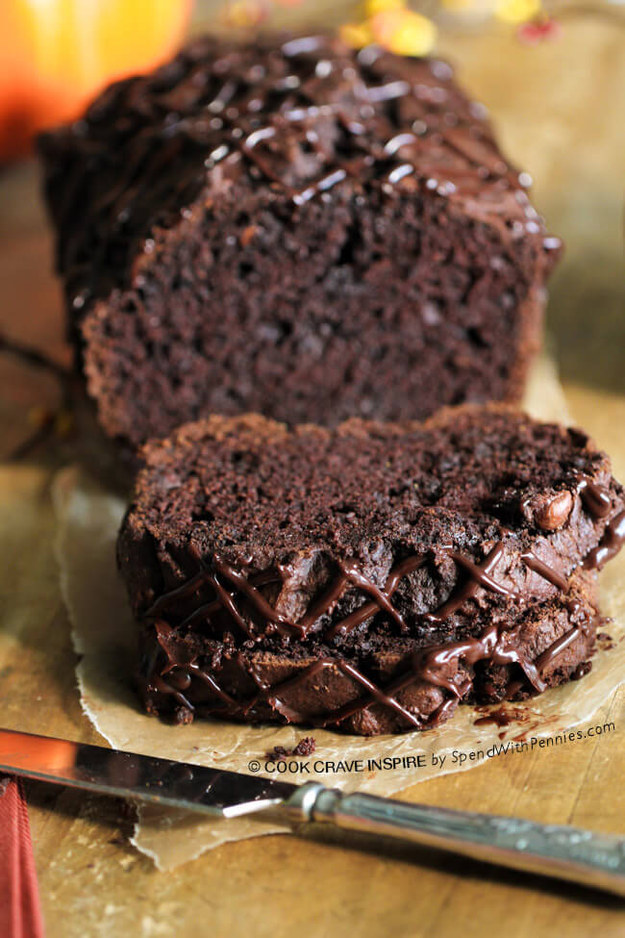 Triple Chocolate Bread