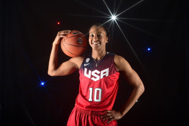 USA Basketball says team captains are Sue Bird, Diana Taurasi, and Tamika Catchings, each of whom is a three-time Olympic gold medalist.