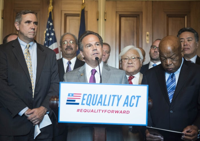 Rep. David Cicilline introducing the Equality Act.