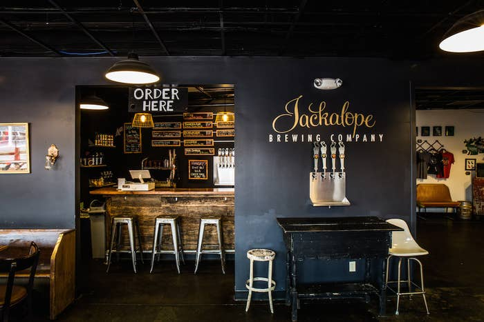 Jackalope Brewery is an awesome place to hang out, with trivia in the taproom every Thursday night and live music every Sunday afternoon.
