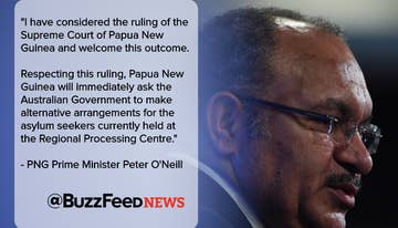PNG Prime Minister Says Manus Island Will Definitely Be Closed