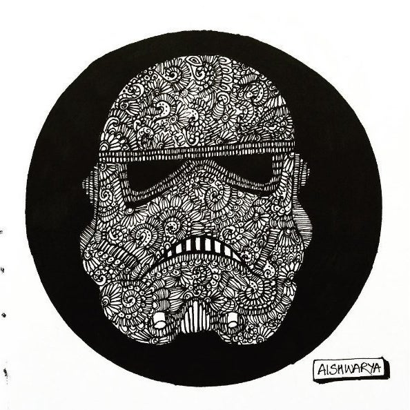 This Diehard Comic Book Fan Creates Exquisite Doodles Of Her Favourite Characters