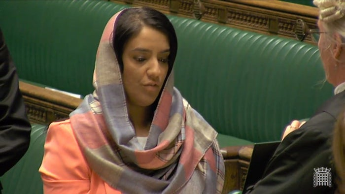Shah gained national prominence during the last election when she managed to defeat Respect Party firebrand George Galloway and take his seat in Parliament. Since then, she's made a name for herself highlighting issues important to British Muslims, including whether groups getting government counterterrorism funding should be investigated.