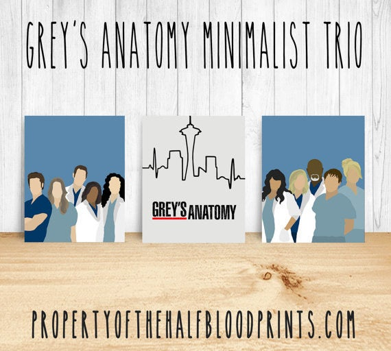 Show off your love for Grey's by showcasing it on your walls. Get it for $22.