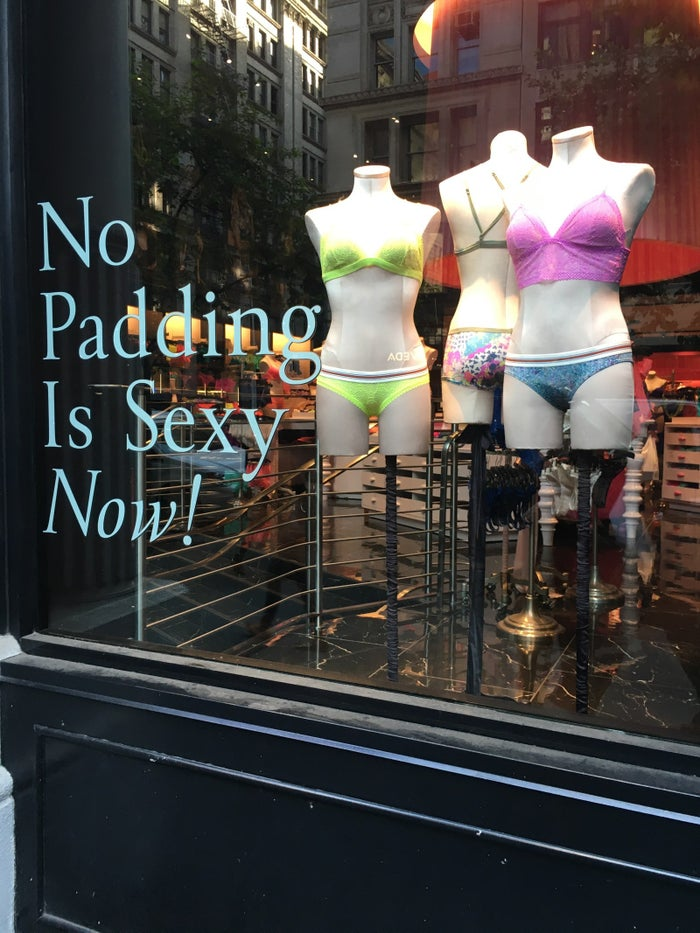 From a Victoria's Secret store in Manhattan.