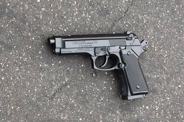 Dedric Colvin's replica gun