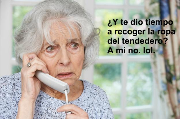 Sentir la necesidad de llamar a un familiar para preguntarle si en su calle también ha llovido tanto como en la tuya.