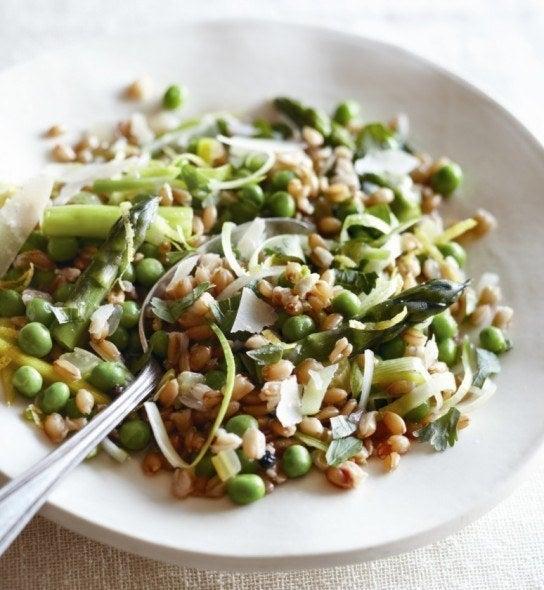 Spring veggies unite. Recipe here.