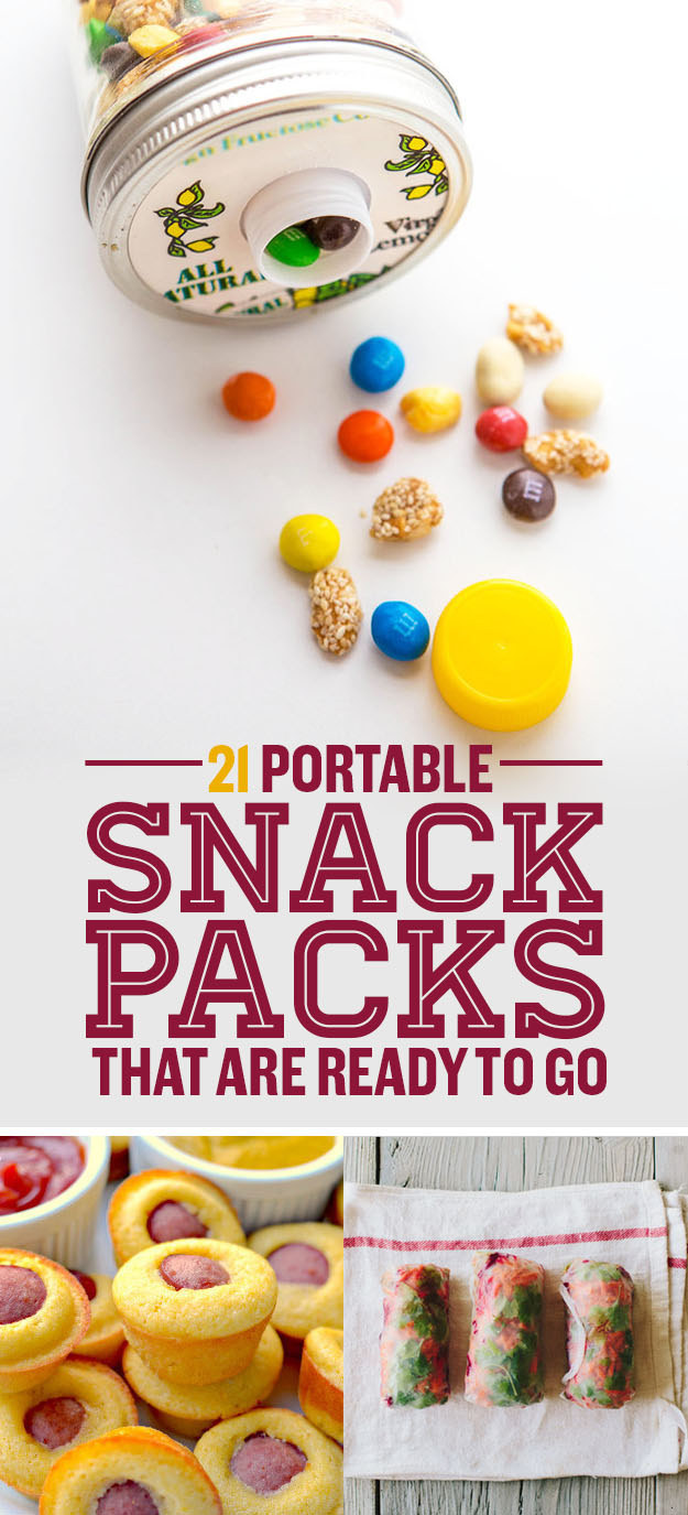 21 Travel-Ready Snack Packs You Can Make Yourself