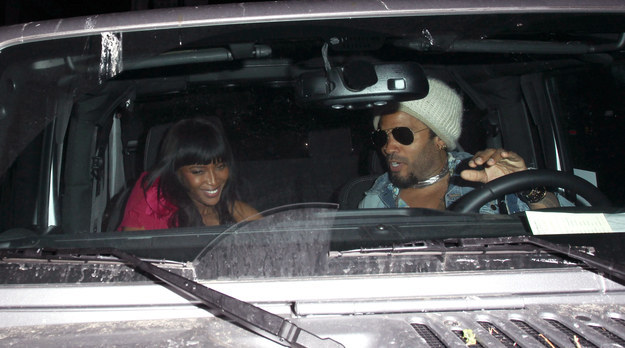 Does He Not Care Naomi Campbell Is In His Bird Ted Car