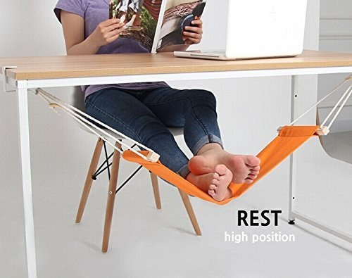This foot hammock for the mom who spends a lot of time at her desk.