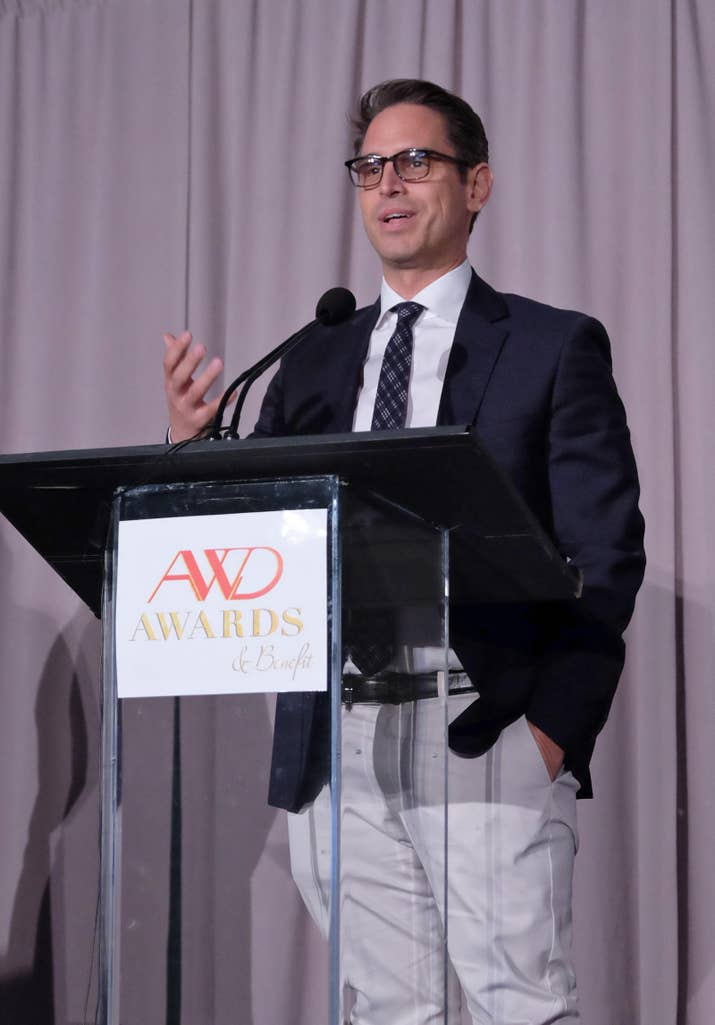 Greg Berlanti at the AWD Awards at The Paley Center for Media.