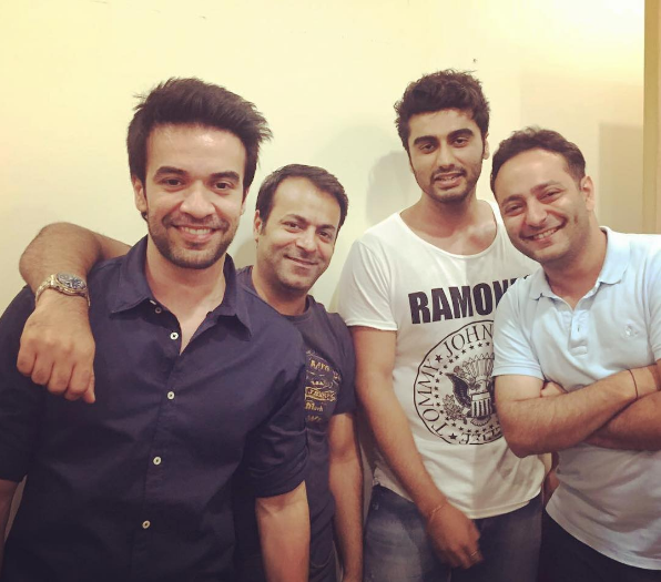 Arjun Kapoor had a reunion with other fellow ex-Dharma Productions assistant directors.