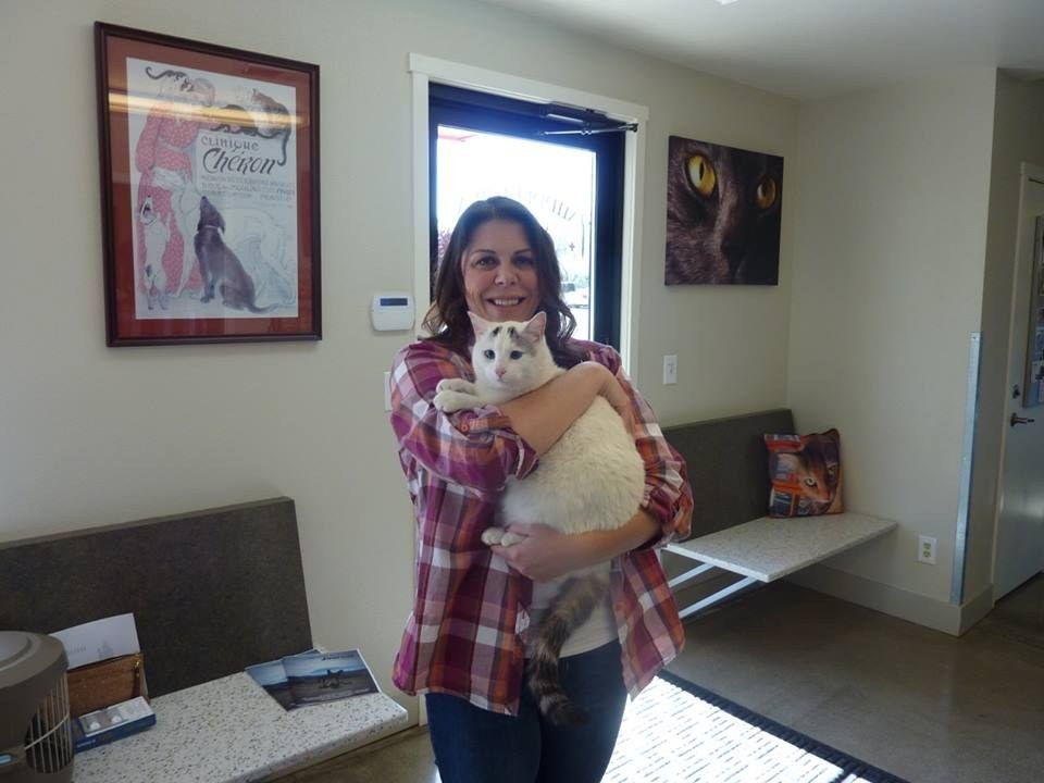 A Woman Has Been Reunited With Her Cat 6 Months After It Went Missing In A Fire