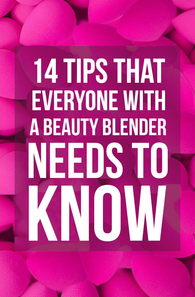 how to clean a beauty blender buzzfeed