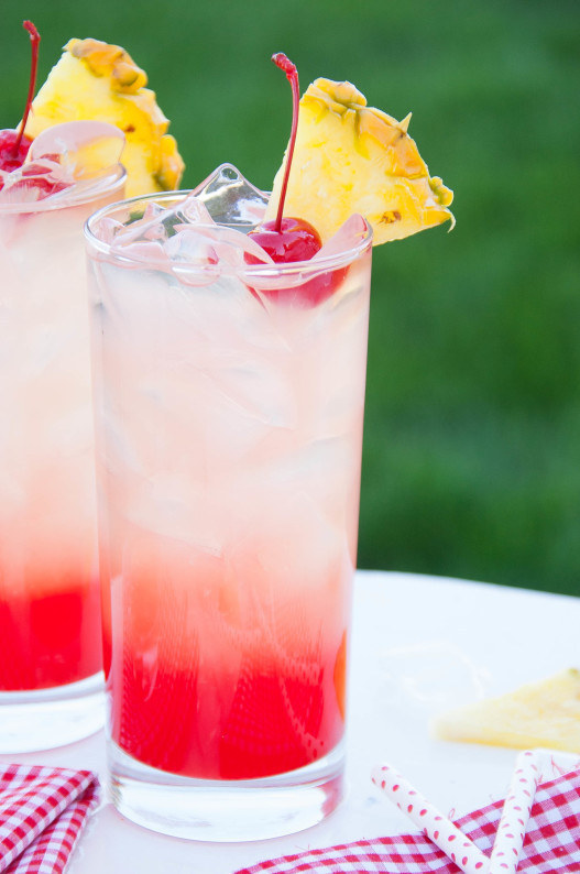 Cherry Pineapple Lemonade