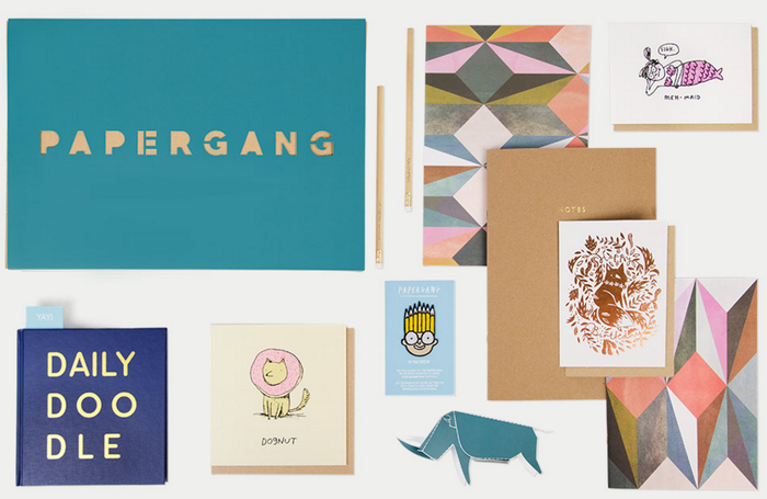Subscribe for a monthly box of stationery treats from £9.95 at Ohh Deer.