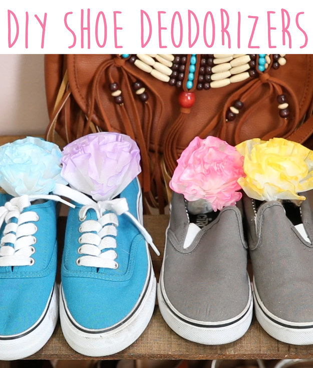 how to get smell out of shoes diy