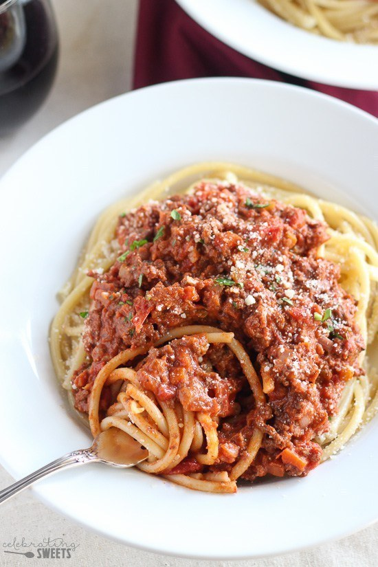 Quick Beef Bolognese