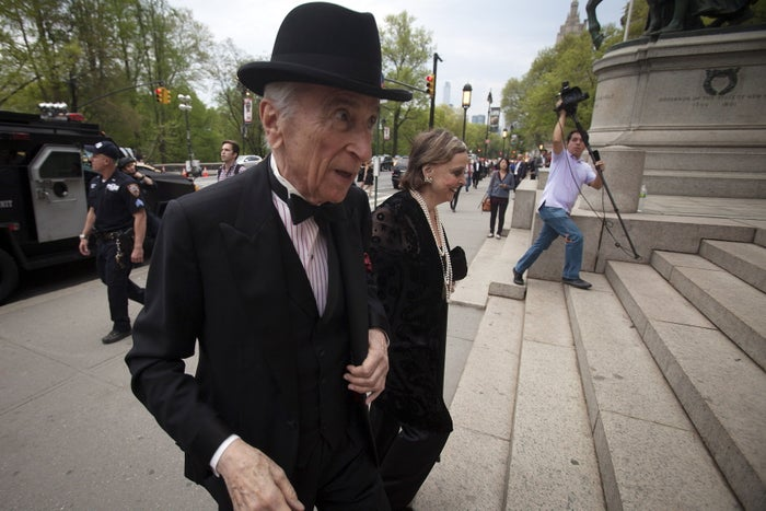 """Gay Talese is basically a founding father of """"narrative"""" or """"longform"""" journalism — true stories written like novels, full of rich details and beautiful scenes and lots of interesting characters. He talked about his career at a conference at Boston University April 1-3 focused on the craft. But he couldn't think of a single woman writer he liked. Even when someone helpfully shouted out, """"Joan Didion?"""" from the audience. She's not his thing, apparently."""