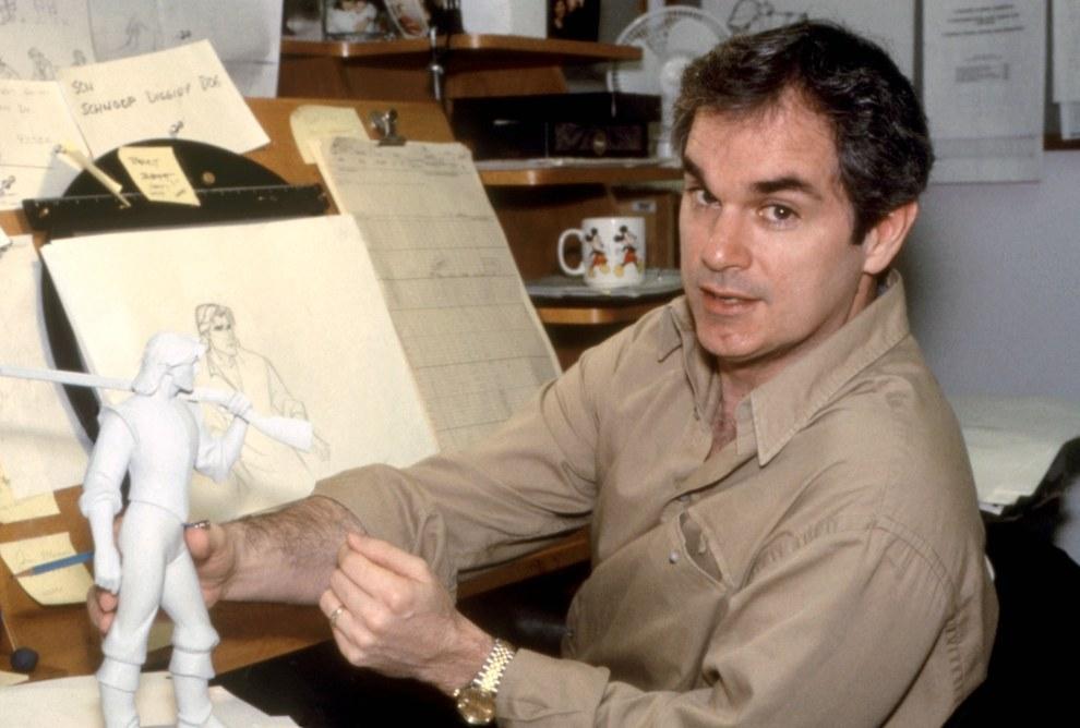 El director de arte Michael Giaimo, Pocahontas.
