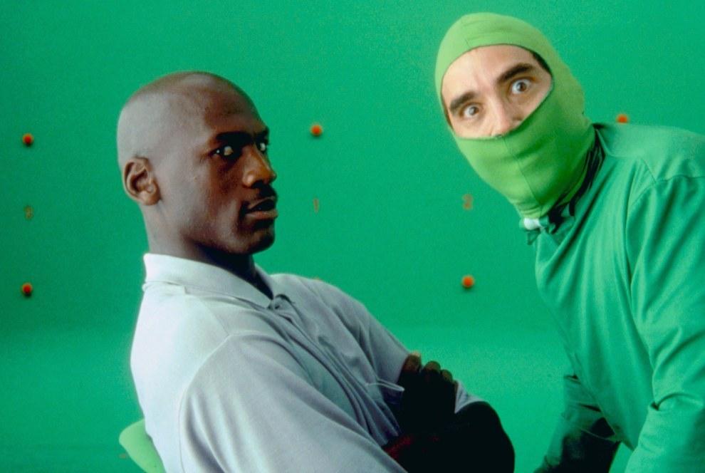 Michael Jordan y Bob Bergen, Space Jam.