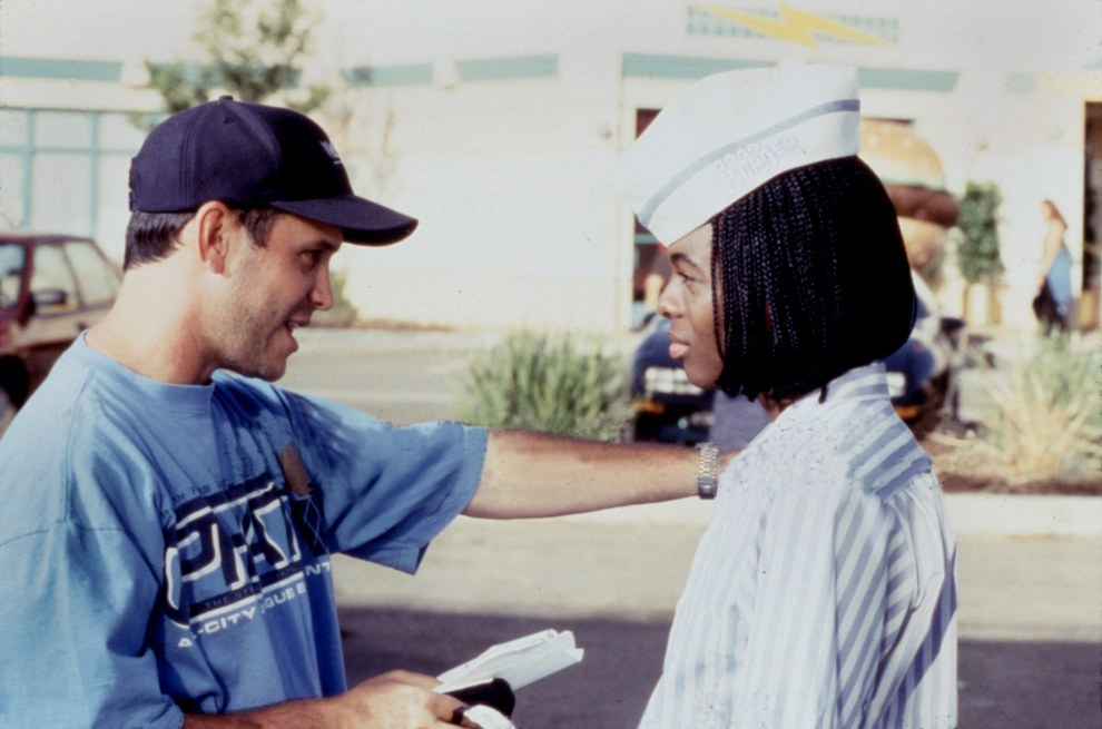 El director Brian Robbins y Kel Mitchell, Good Burger.