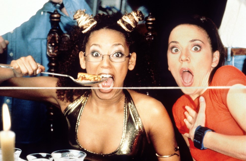 Melanie Brown y Melanie Chisholm, Spice World.