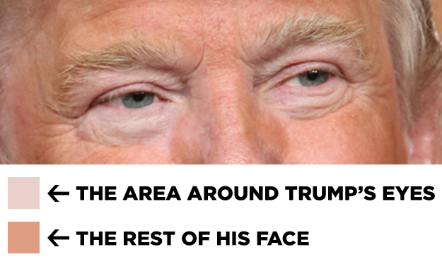 I Photoshopped Trump Without His Fake Tan And Now I Cant Sleep At Night