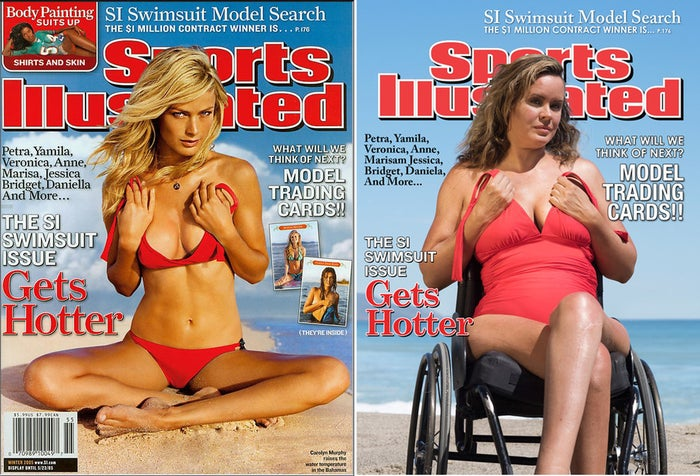 """From the story, """"We Posed Like """"Sports Illustrated"""" Swimsuit Cover Models And It Was Empowering."""""""