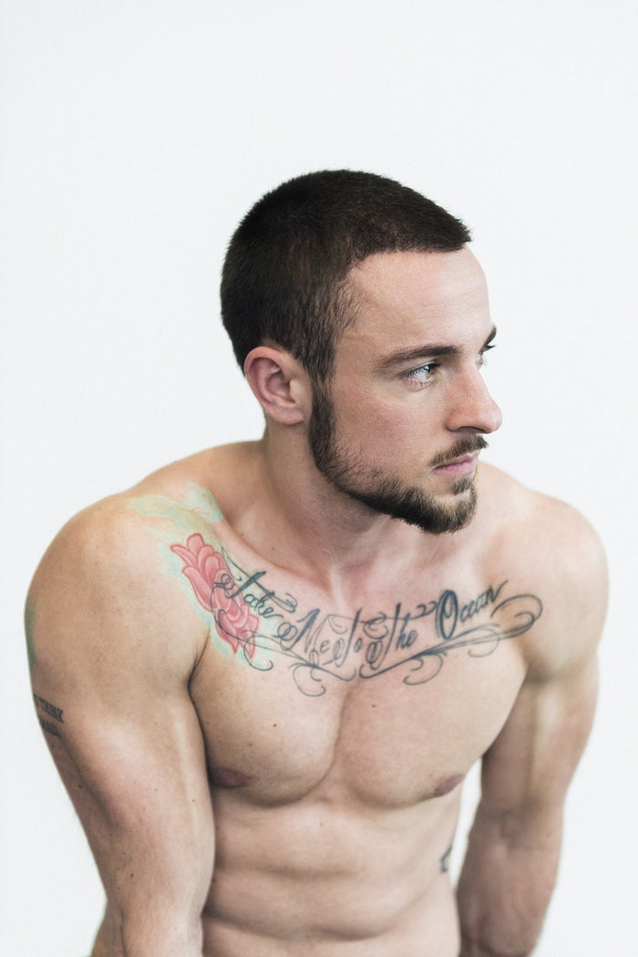 """From the story, """"Meet The First Transgender Cover Model For Men's Health In Germany."""""""