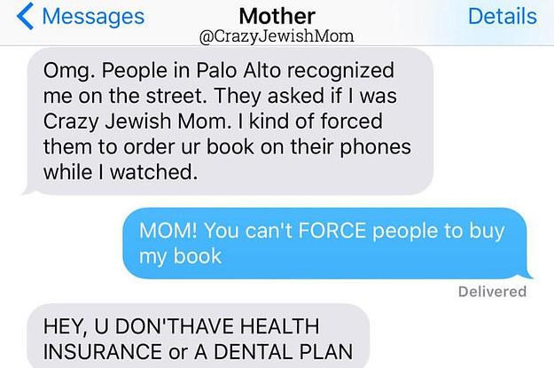 crazy jewish mom