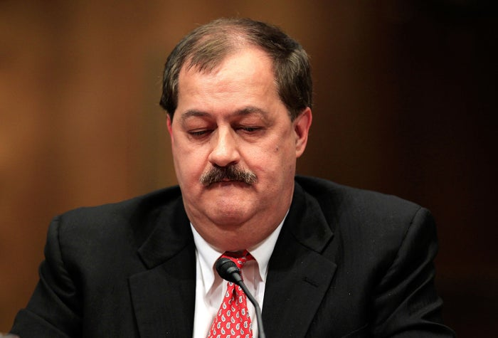 Don Blankenship testifying on Capitol Hill in 2010.