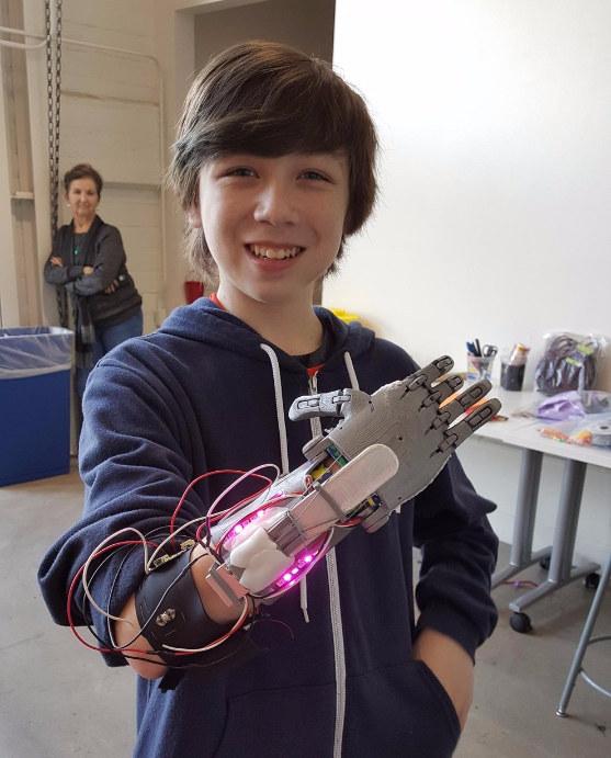 Cet enfant a appelé son projet le Nubinator 3.0.