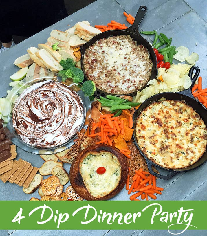 Heres how to make a super tasty four course dip dinner forumfinder Gallery